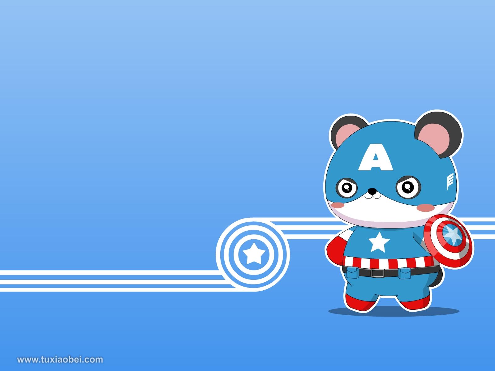 美国队长 - 兔小贝与宝宝贴心相伴